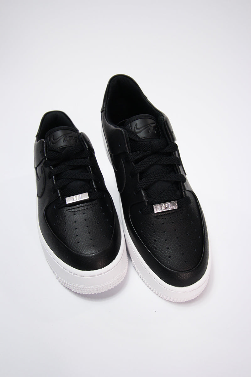 Nike - Nike Air Force 1 Sage Low (black/black-white) AR5339-002