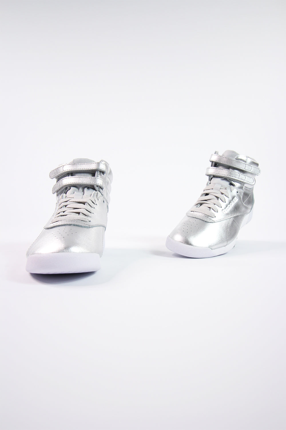 Reebok - F/S HI Metallic Women (Silber Metallic/ Steel/ White) BS9944