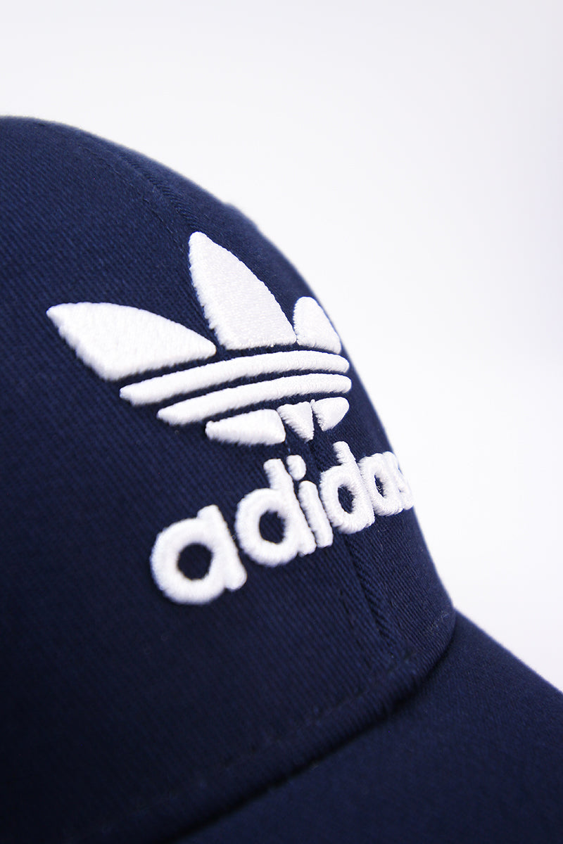 Adidas - Baseball Cap with White Trefoil Logo (Collegiate Navy) DV0174