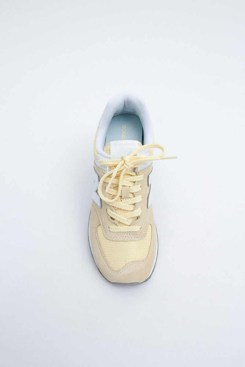 New Balance -  WL574ESG Women  (SUNGLOWYELLOW)