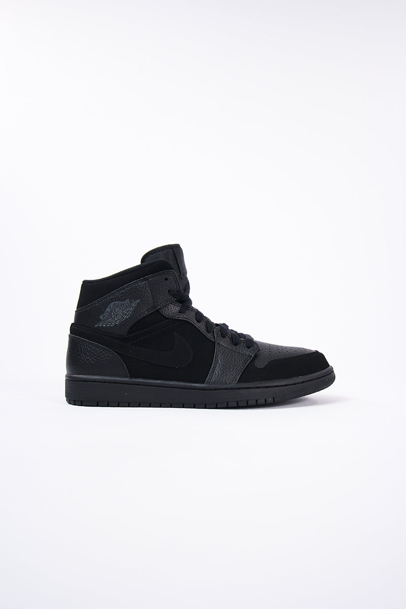 Air Jordan - Air Jordan 1 Mid (black/dk smoke grey-black) 554724-064
