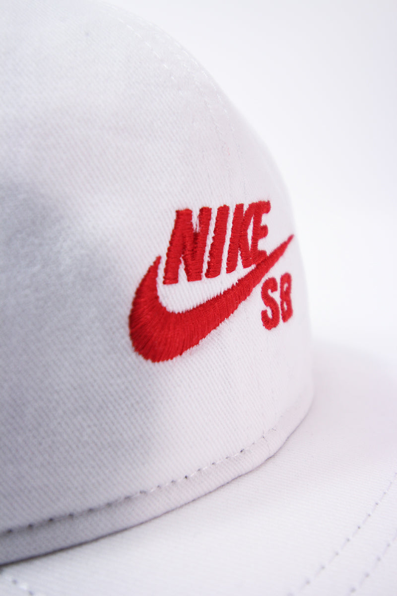 Nike - SB Pro Vintage Cap (white/university red) 850816-103