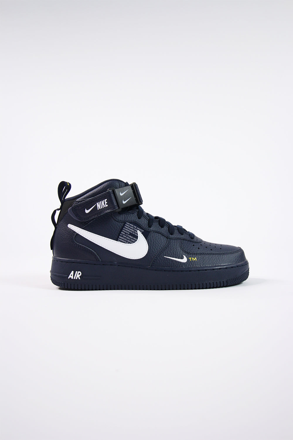 NIKE AIR FORCE 1 MID 07 LV8 Nike air force 1 mid LV8 WHITEBLACK TOUR YELLOW
