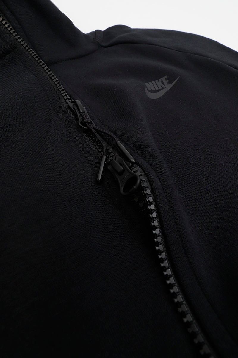 Nike - Sportswear Tech Fleece Zip Hoodie (Black/ Black) 928483-010