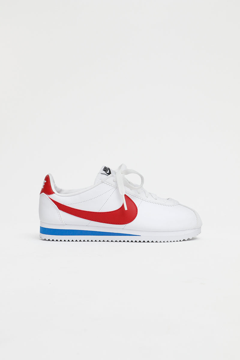 Nike - Classic Cortez Women (White/ Varsity Red-Royal) 807471-103