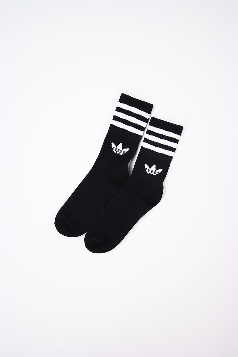 Adidas - Trefoil Ankle Socks  (Black) AZ5523