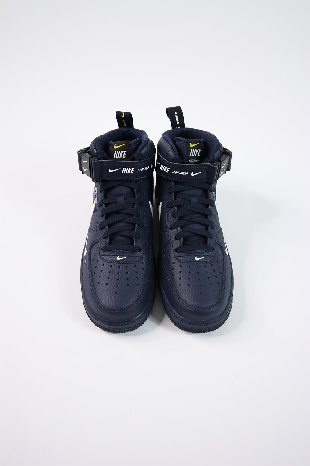 hot sale online 88e48 ce3b0 Nike - Air Force 1 Mid' 07 LV8 (Obsidian/White Black Tour ...