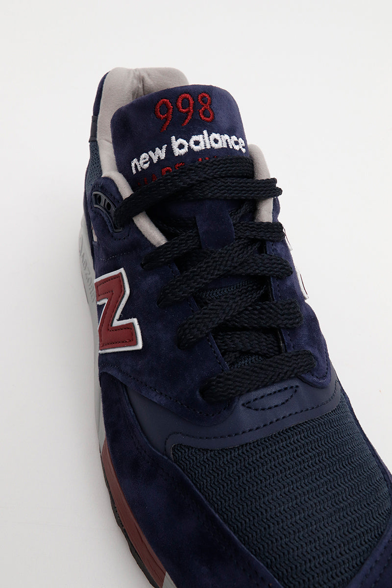 New Balance - M998MB Sneaker Sonderedition hergestellt in den Usa in Navyblau