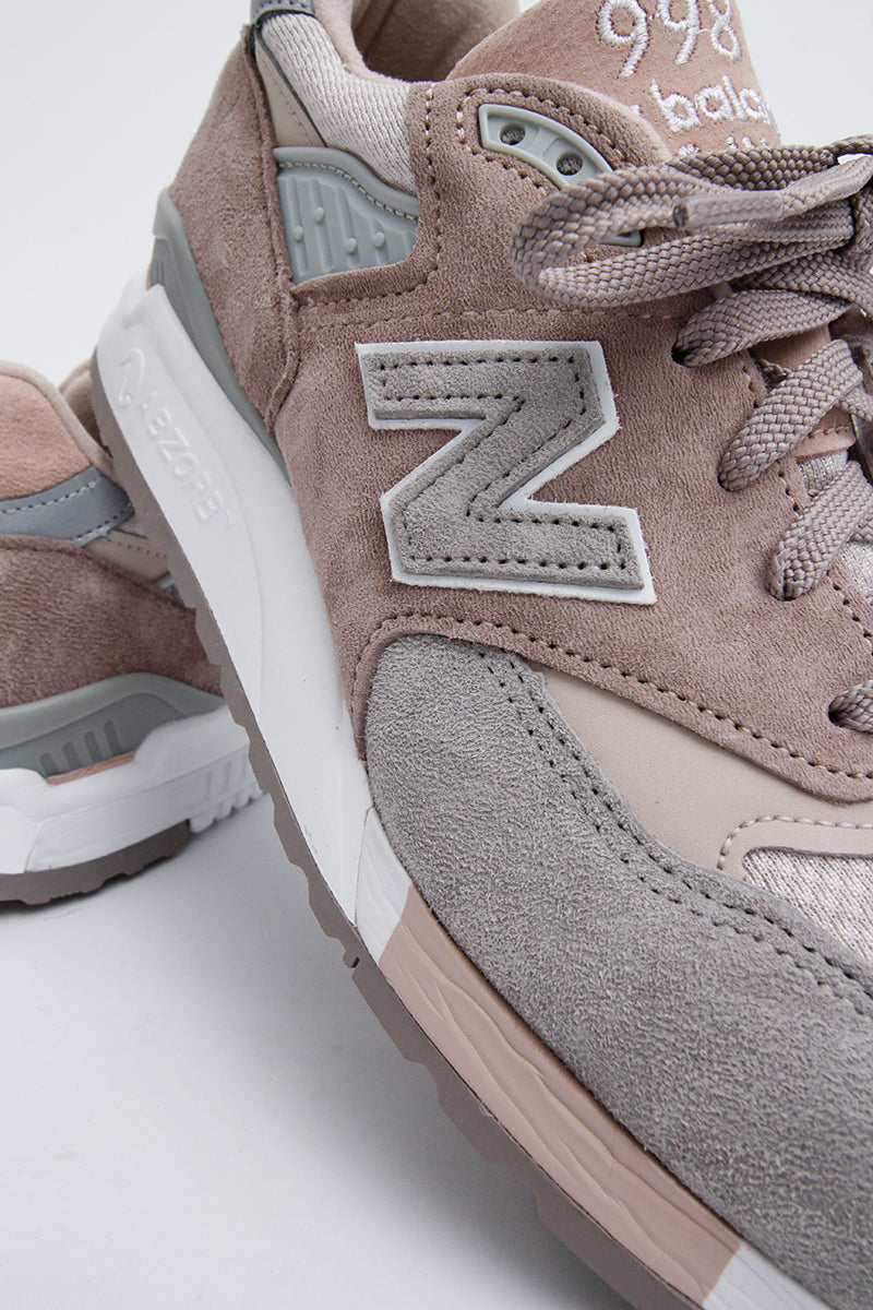 New Balance -  W998AWA Women  (GREY/WHITE)