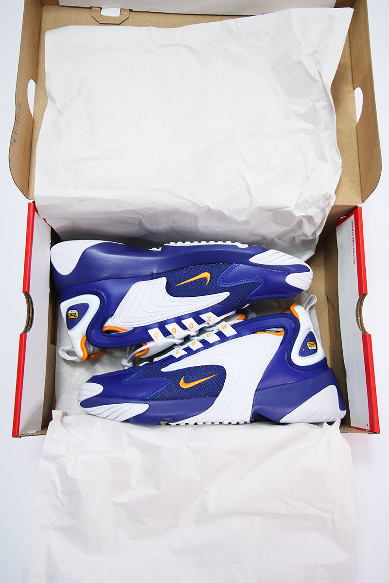 Nike - Nike Zoom 2K (deep royal blue/orange peel-white) AO0269-400