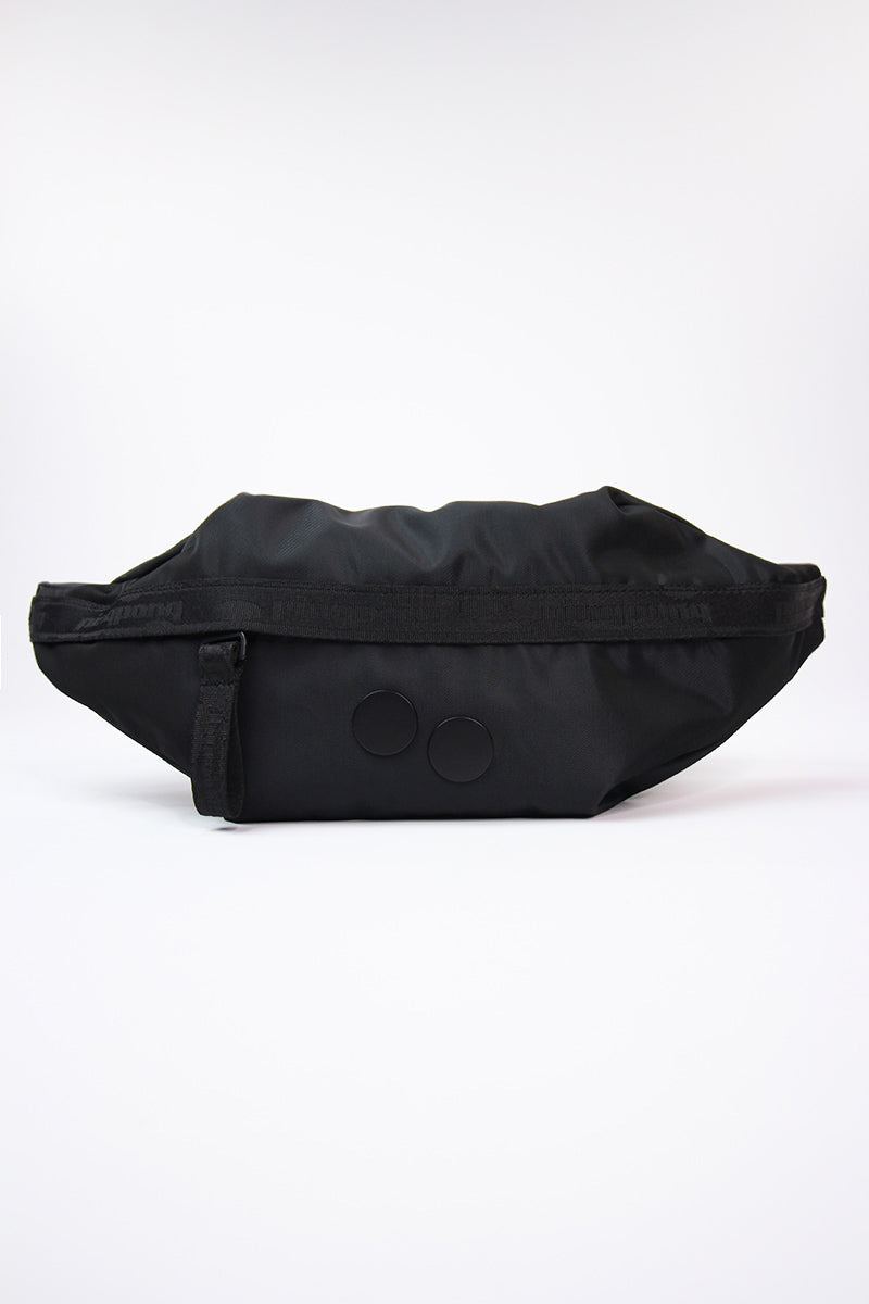 Pinqponq - Brik Hip Bag Polished (Black) PPC-HBE-001- 801D