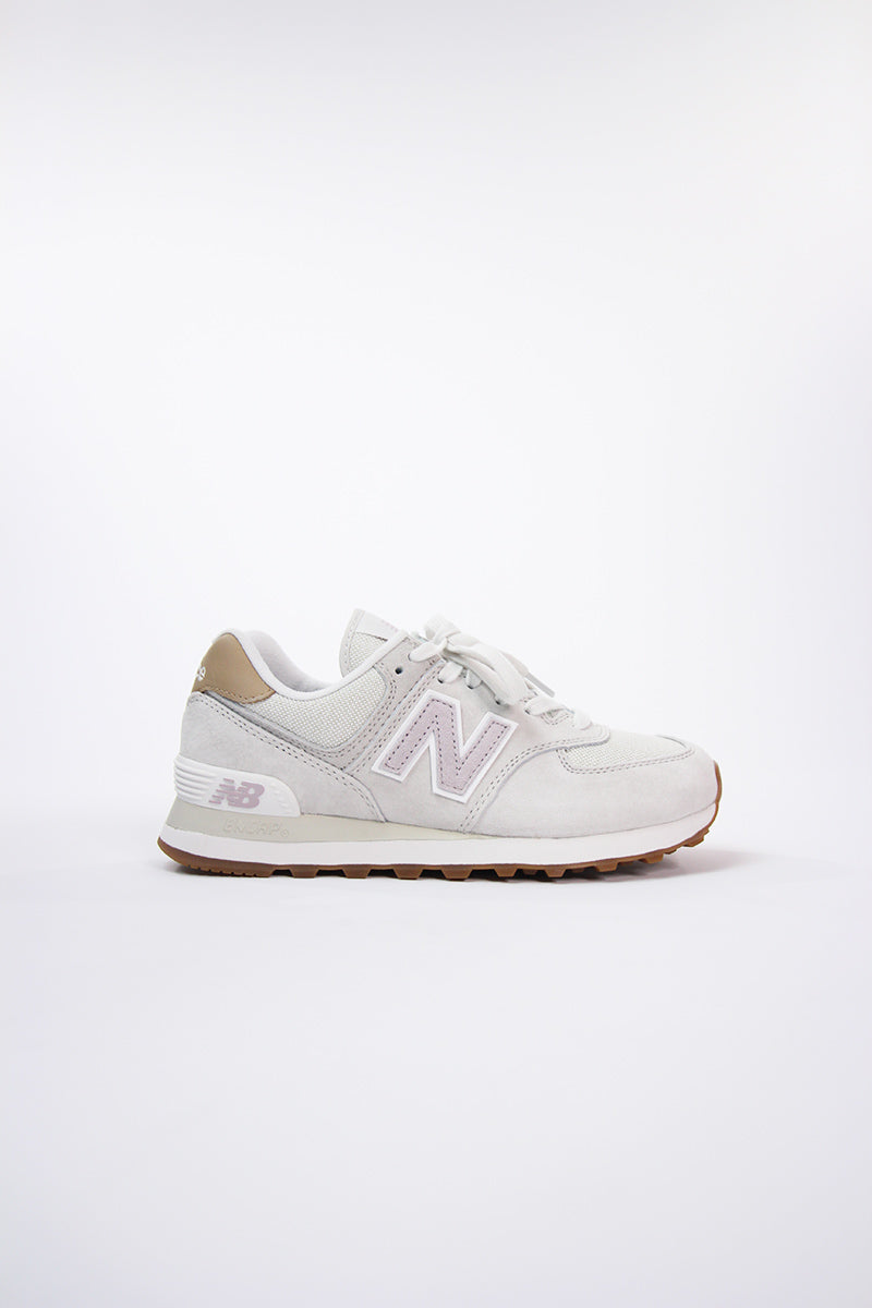 New Balance -  WL574CLC Women (Sand Grey-Pink)
