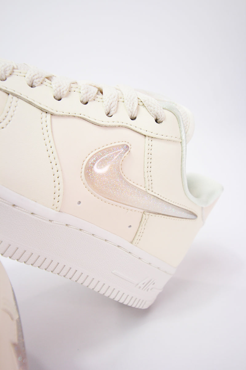 cf049ed6215f Nike - Air Force 1  07 Womens (pale ivory summit white-guava ice) AH6827-100