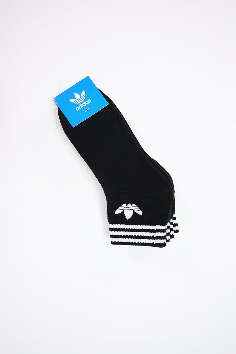 Adidas - Mid Cut Crew Socks  (Black) DX9092
