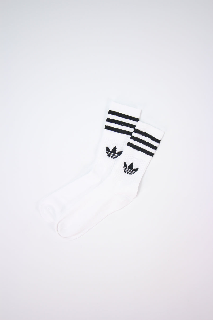 Adidas - Mid Cut Crew Socks (White) DX9091