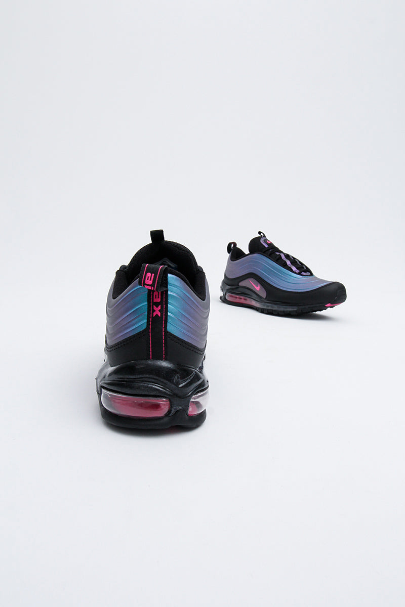 Nike - Air Max 97 LX (BLACK/LASER FUCHSIA-THUNDER GREY) AV1165-001