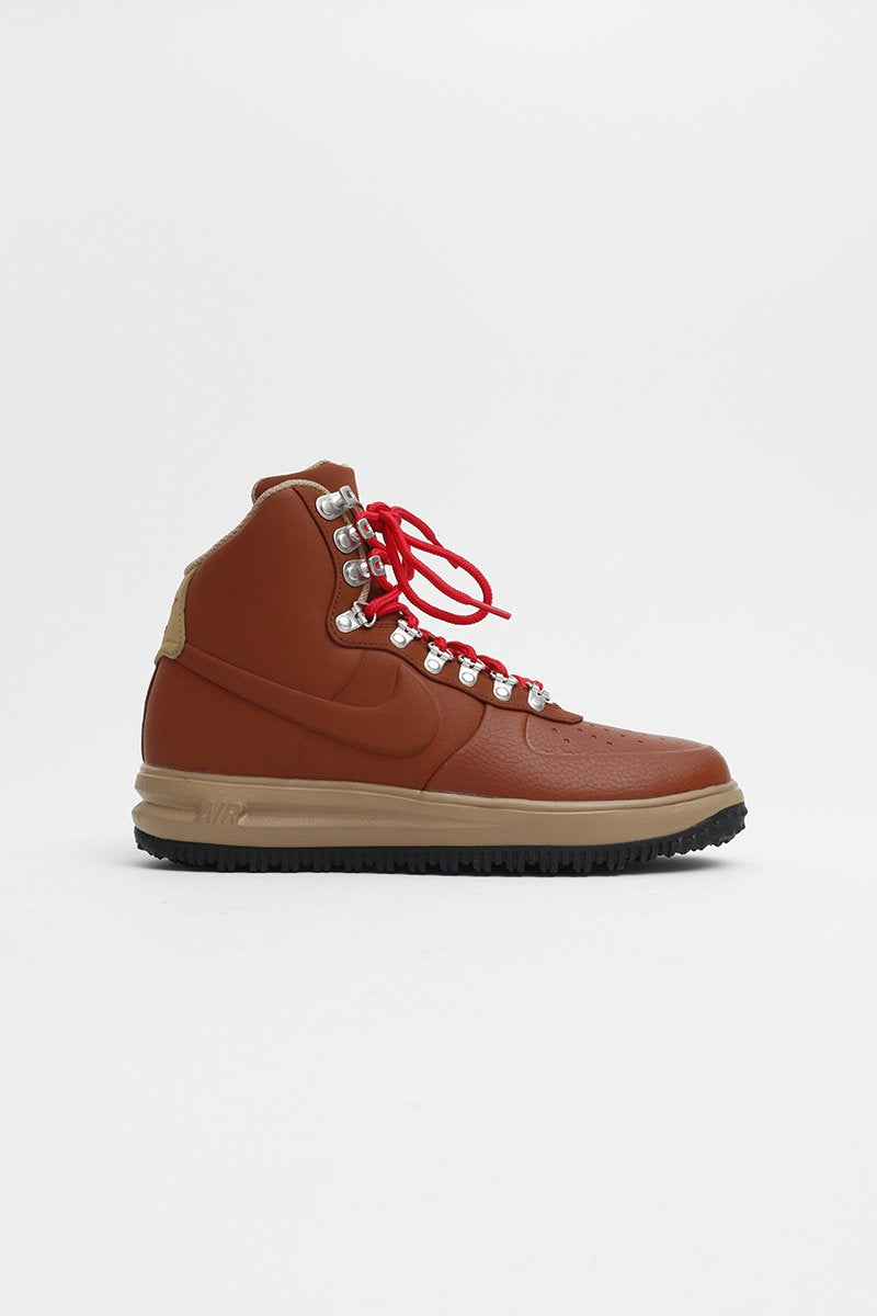 Nike - Lunar Force 1 '18 Weather Proof (Cinnamon/Beechtree-Black-Universtiy Red) BQ7930-200