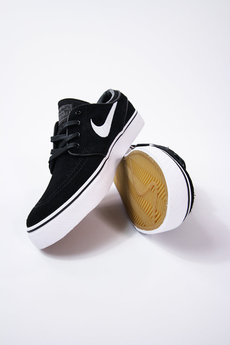online retailer aee47 5b6bd Nike - SB Zoom Stefan Janoski (black white-thunder grey-gum light brown)  333824-067