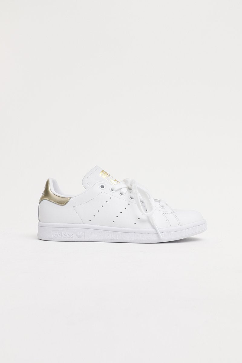 Adidas - Stan Smith Women (Ftw White/ Ftw White/ Gold Mt) EE8836