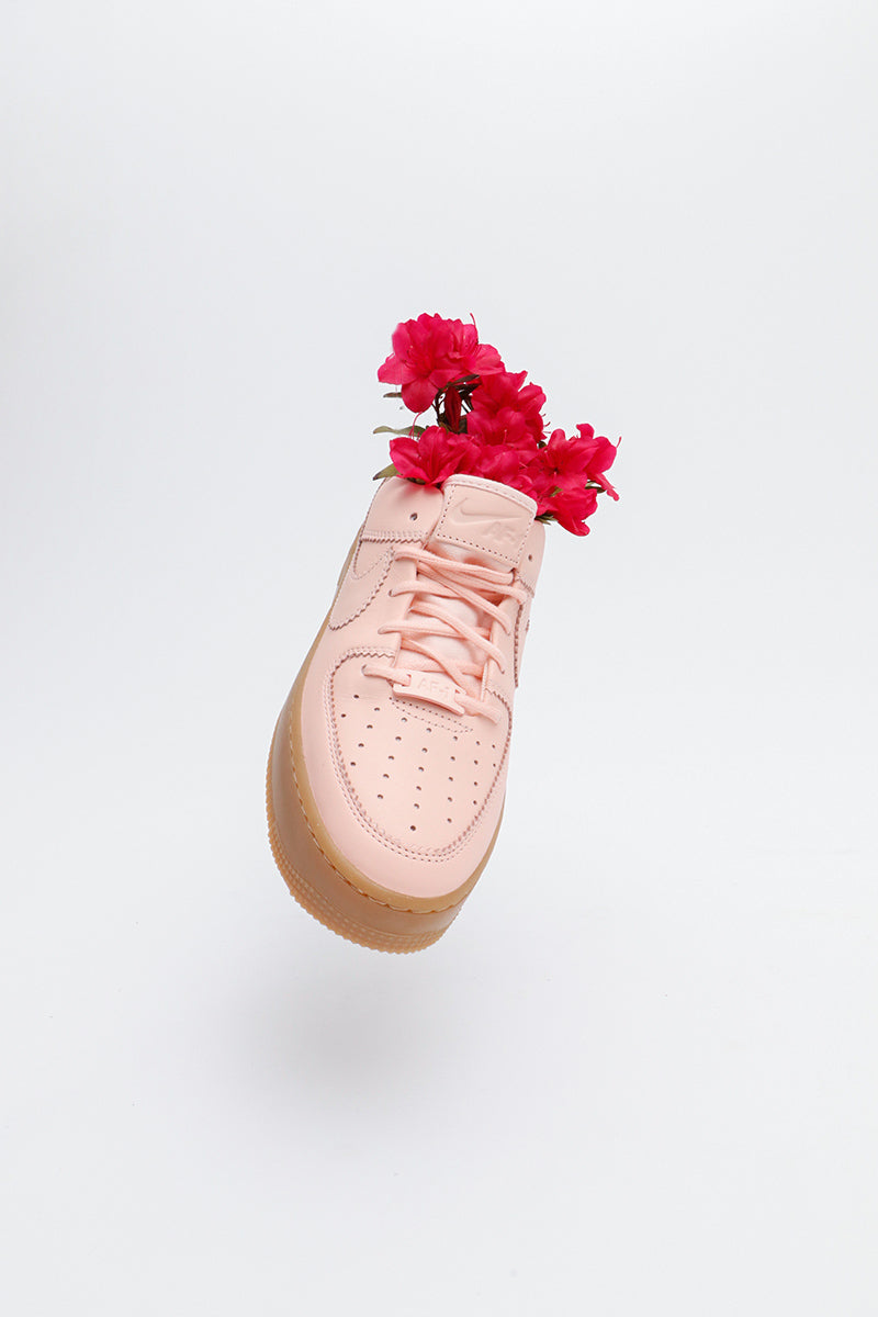 promo code 1158e cf18a Nike - Air Force 1 Sage Low LX Women (washed coral washed coral) AR5409-600