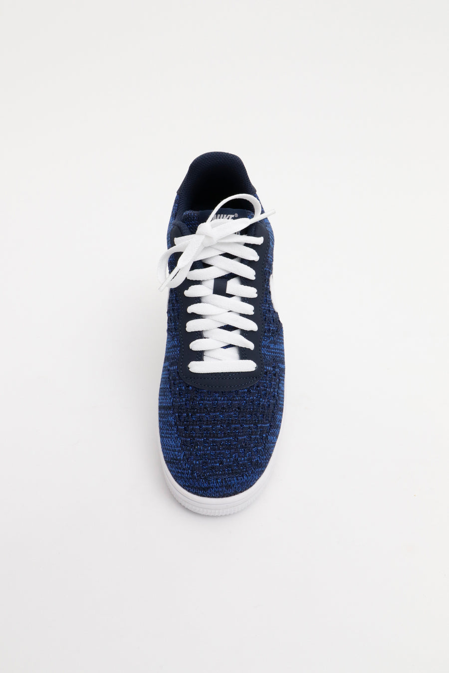 Nike - Ultraleichter Air Force 1 Flyknit 2.0 Flyknit Mesh Sneaker in Blau - AV3042-400