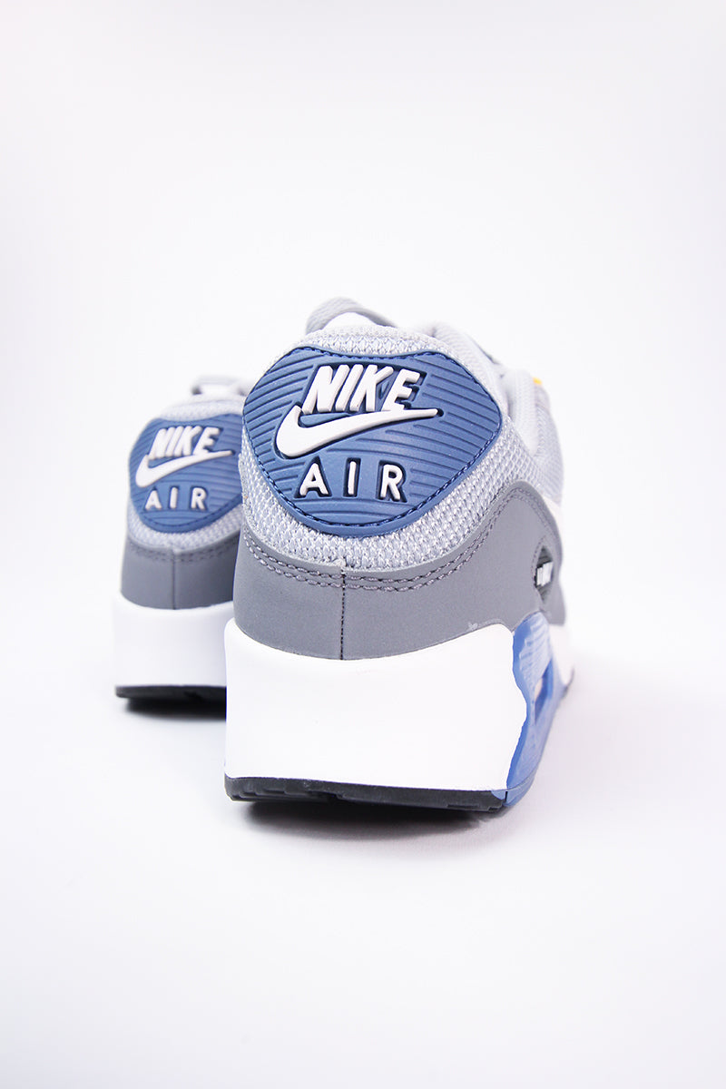 the latest 69e14 943a5 Nike - Air Max  90 Essential (wolf grey white-indigo storm) AJ1285-016