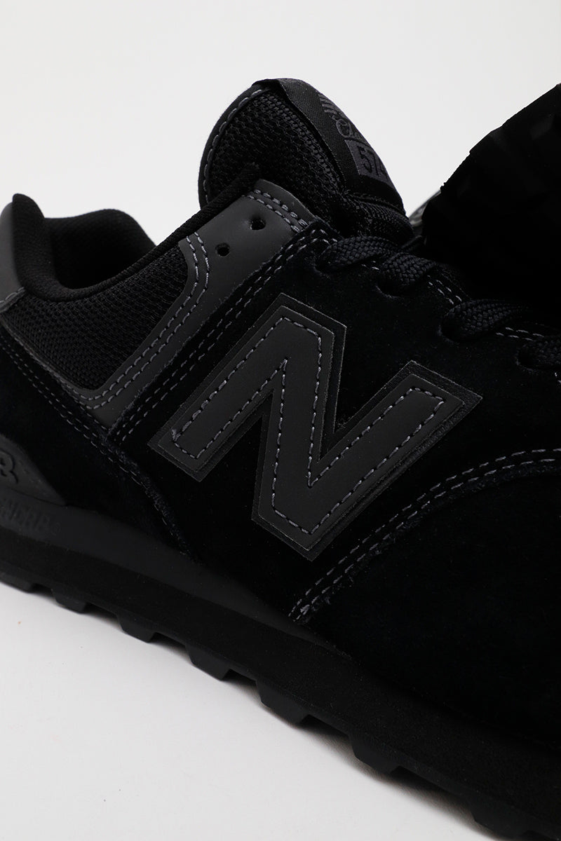 New Balance ML574ETE (Triple Black) Sneakerworld