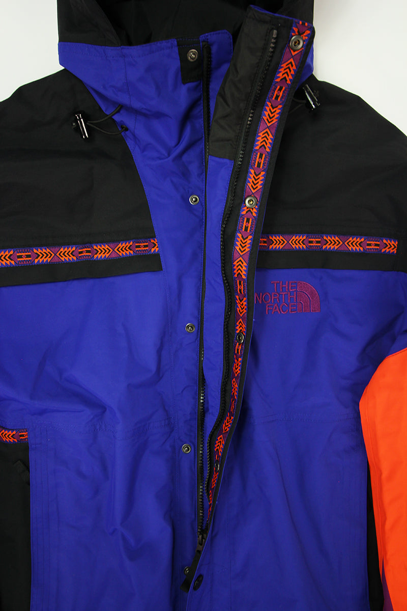 The North Face - Retro Rage Rain Jacket 92 (Aztec Blue Rage) T93MIB9QX