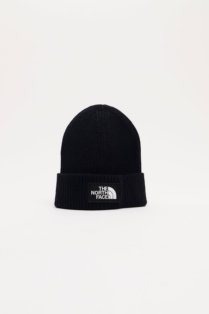The North Face - Logo Box Cuf Beanie (Urban Navy) A3FJXH
