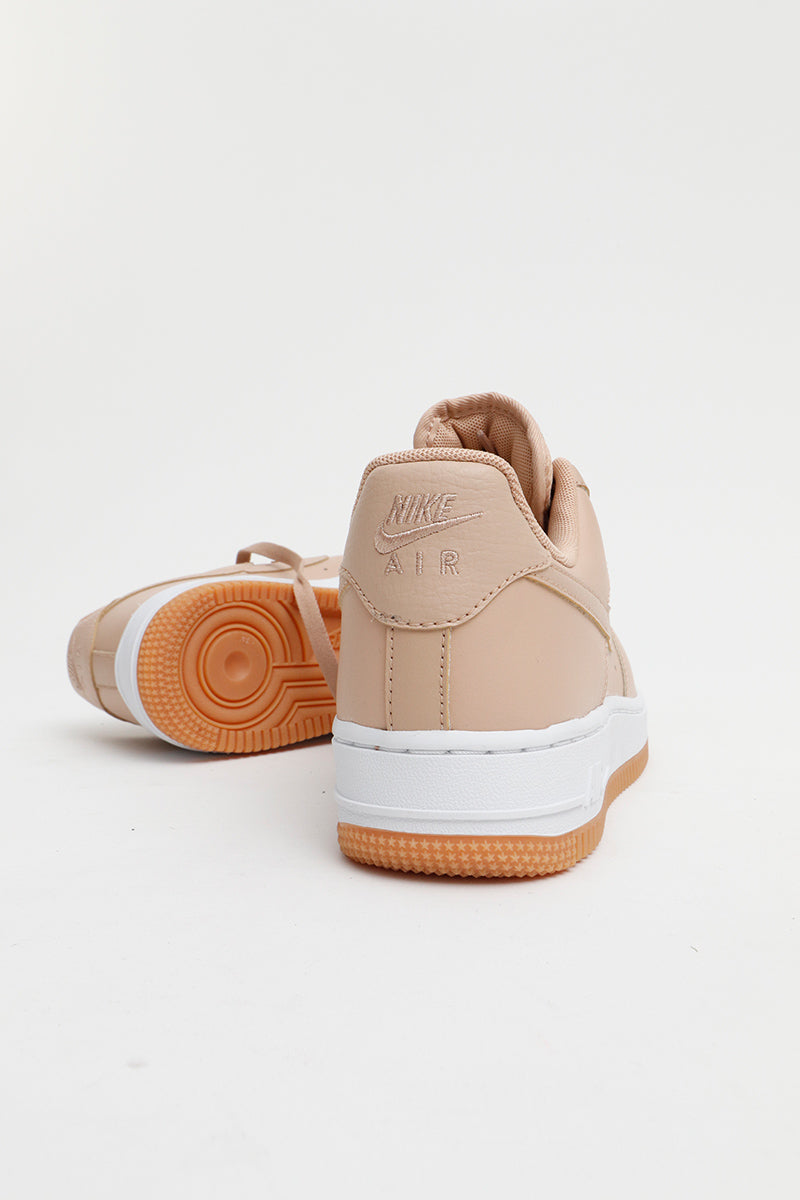 Nike - Air Force 1 '07 Premium Women (Bio Beige/ Bio Beige-Metallic Silver) 896185-202