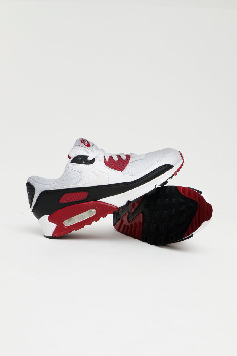 Nike - Air Max 90 in Kastanienrot mit Air Sohle - CT4352-104