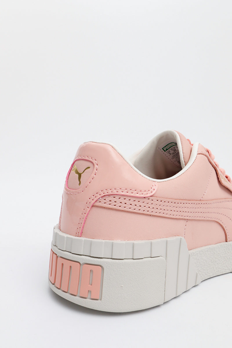 Puma - Girly Cali Nubuck Sneaker in Pink mit Gold Details - 369161-01