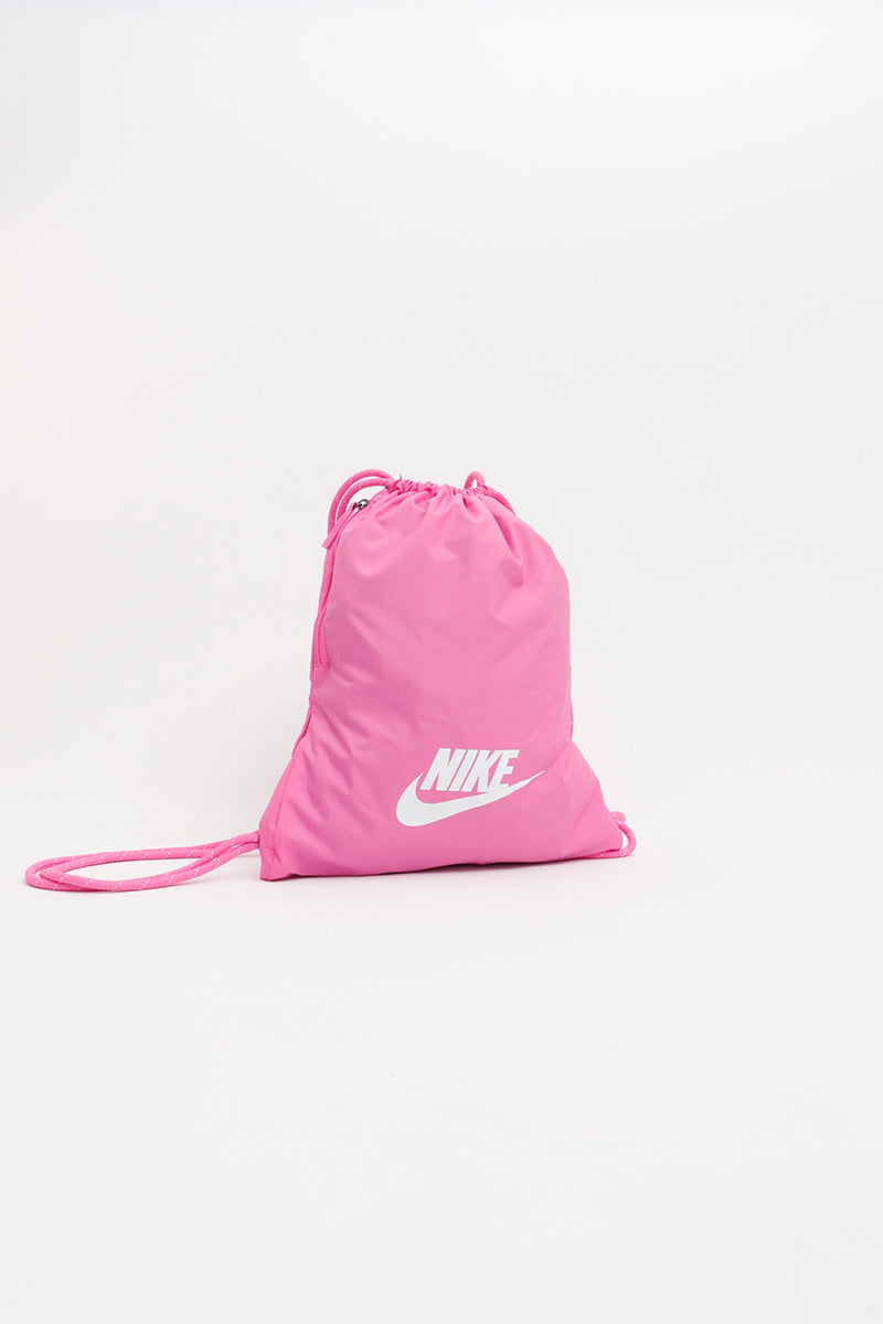 Nike - Heritage 2.0 Gym Sack (China Rose/ China Rose/ White) BA5901-610