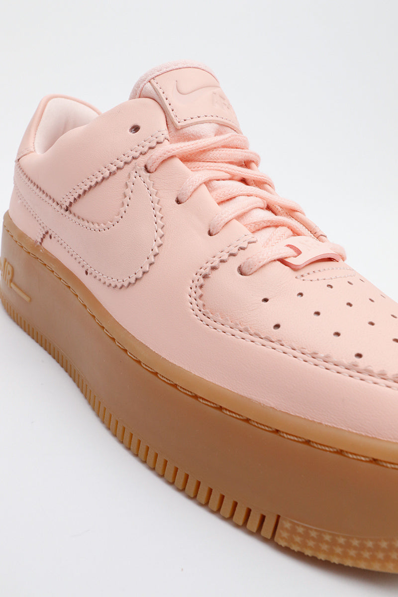 Nike - Air Force 1 Sage Low LX Women (washed coral/washed coral) AR5409-600