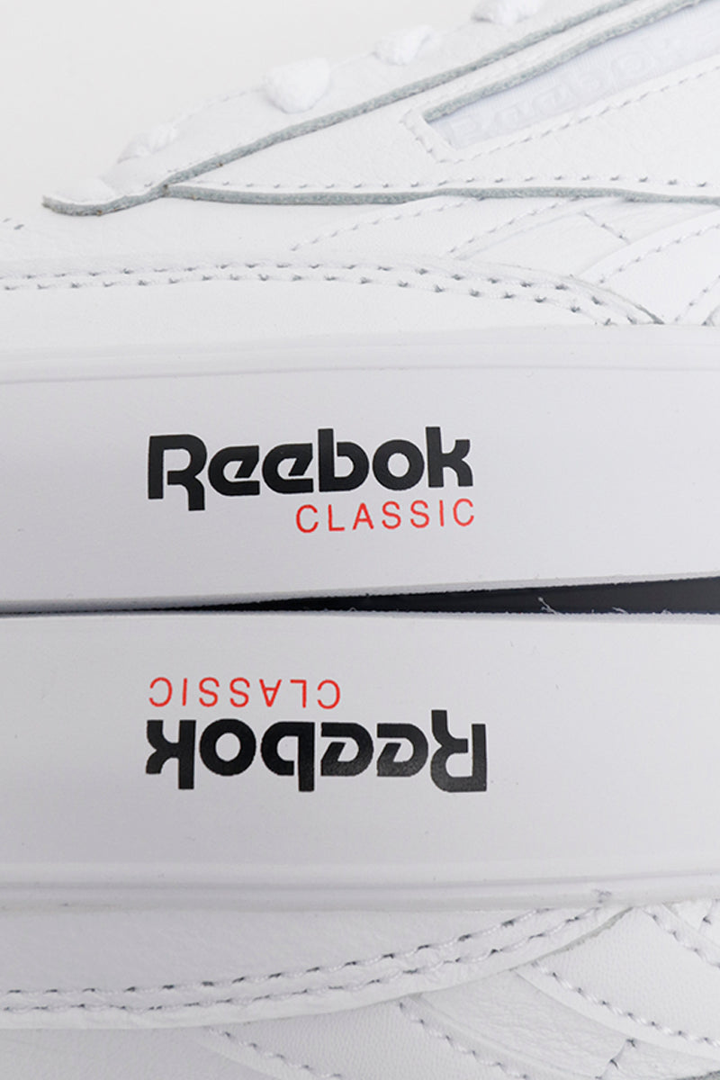 Toddler's Reebok – Classic Leather – Primal Red Black White