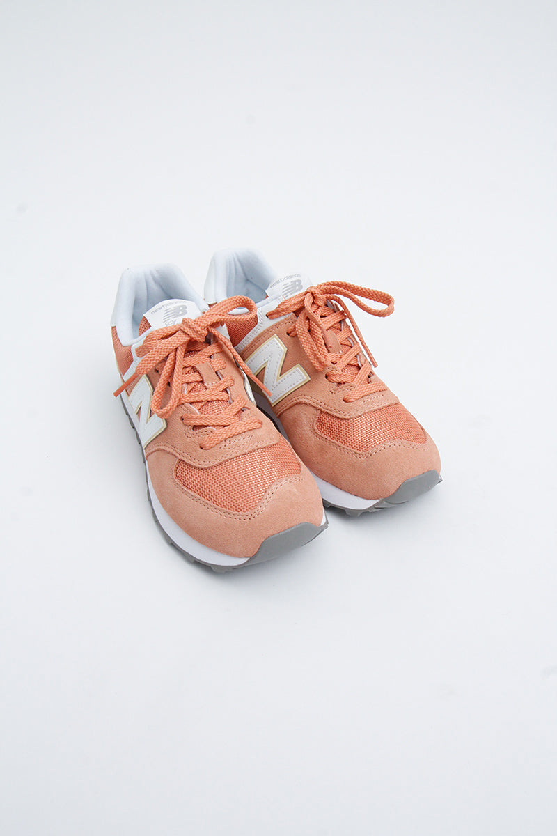 New Balance - Sommerlicher Sneker in blassem Orange für Damen WL574ESF