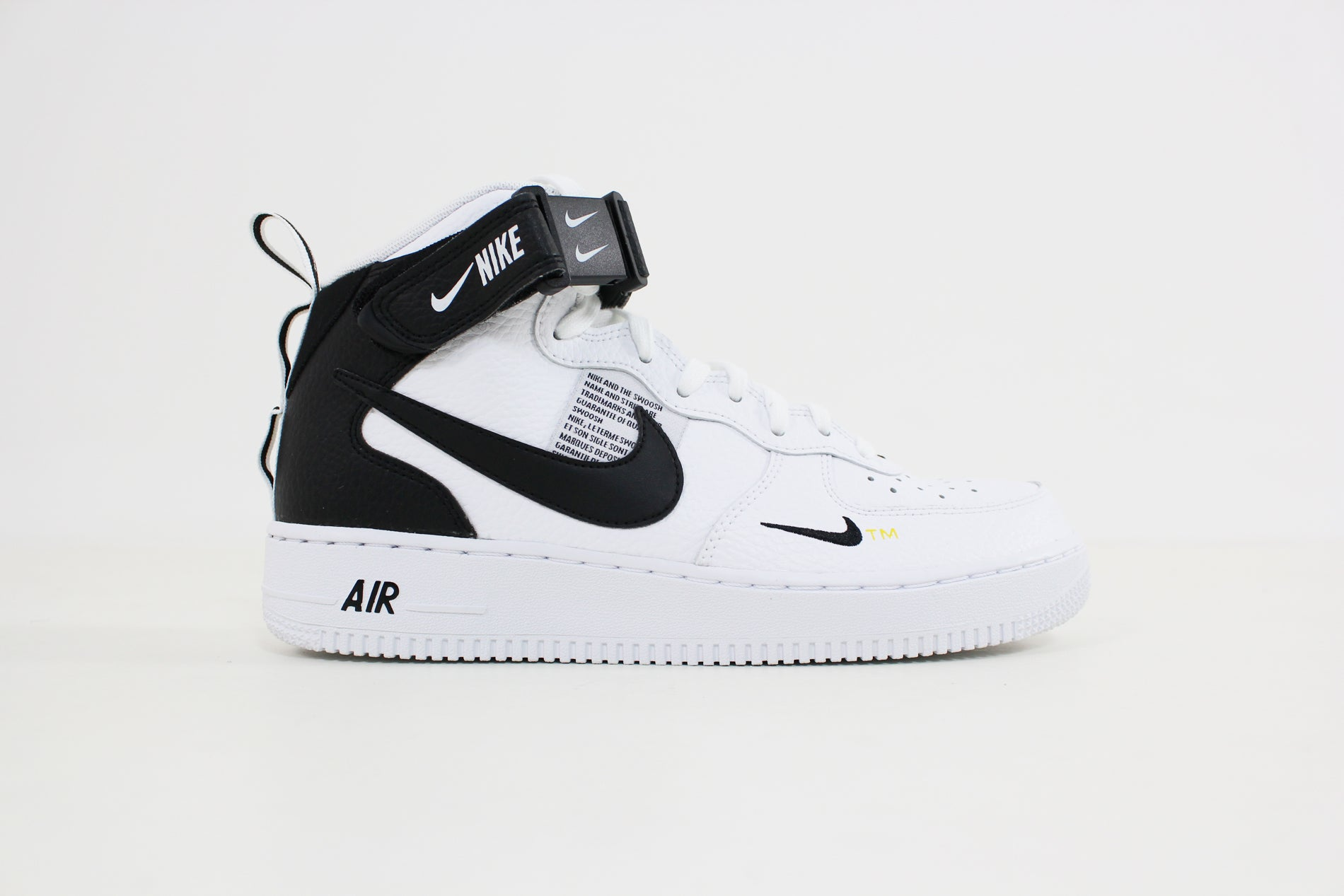 Nike - Air Force 1 Mid 07 LV8 (White/Black Tour Yellow) 804609-103