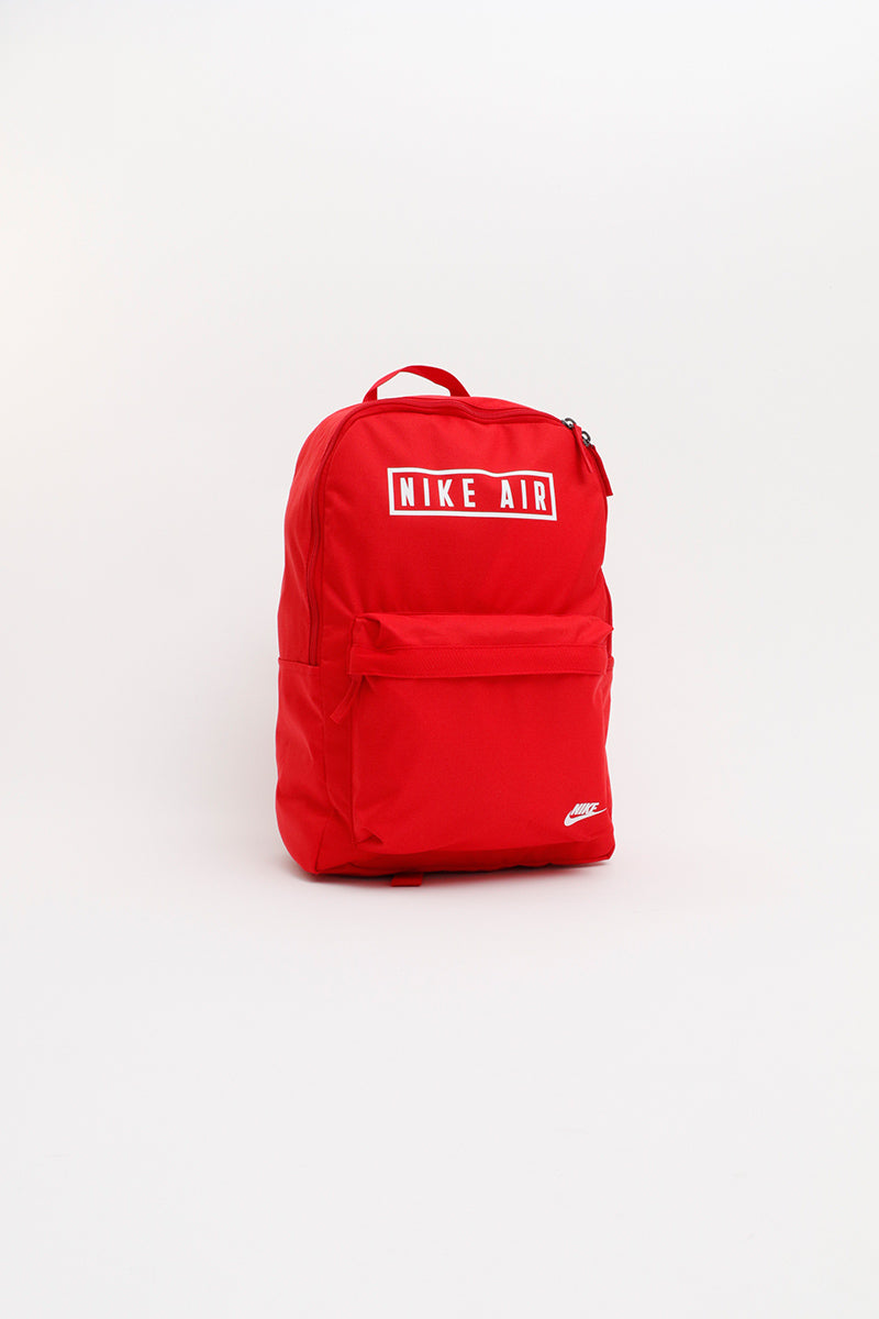 Nike - Air Heritage 2.0 Graphic Backpack (University Red/ University Red/ White) BA6022-657