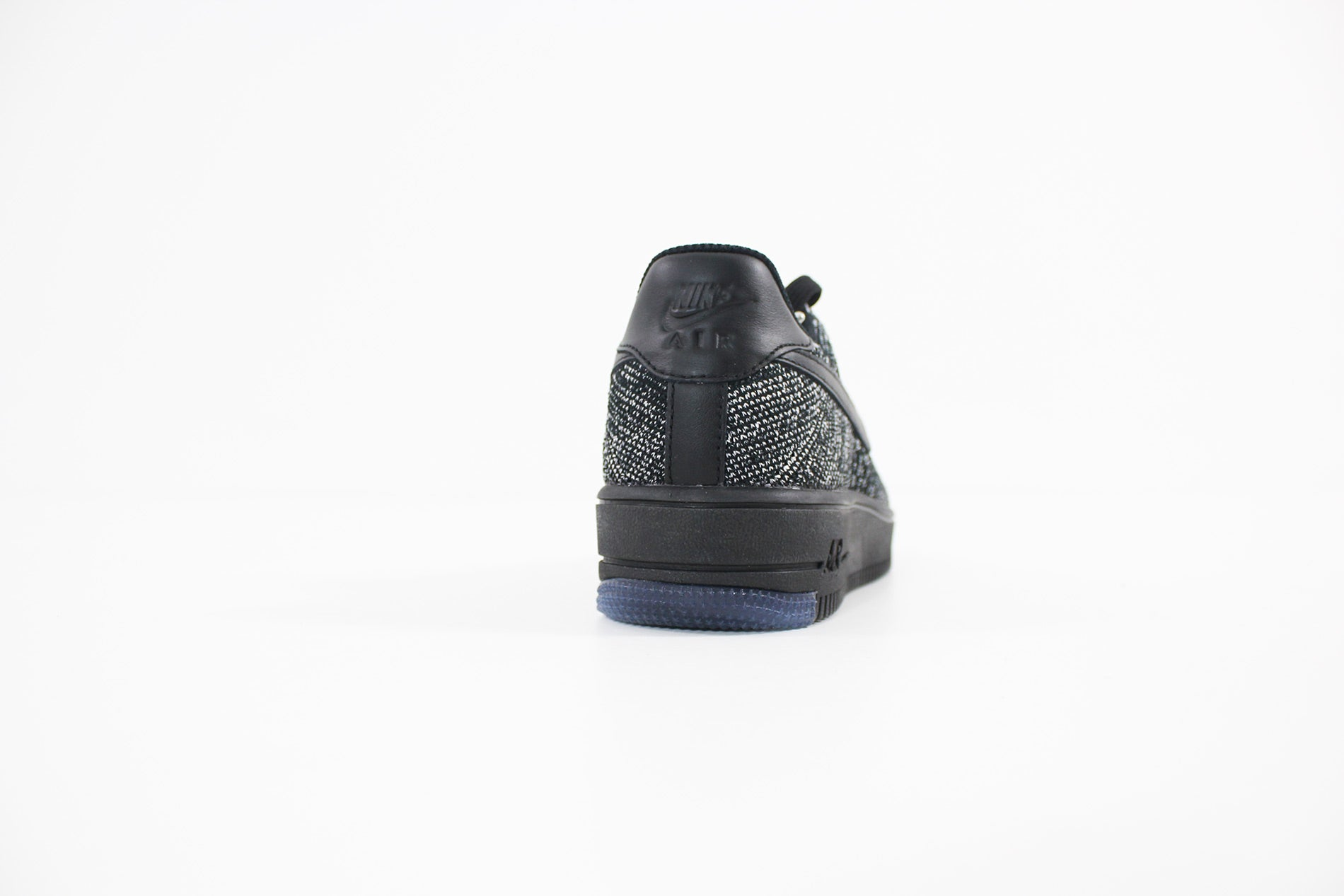 more photos 9efeb 99d54 Nike - Air Force 1 Flyknit Low (BLACK/BLACK-WHITE) 820256-. Nike - Air  Force 1 Flyknit Low (BLACK/BLACK-WHITE) 820256-