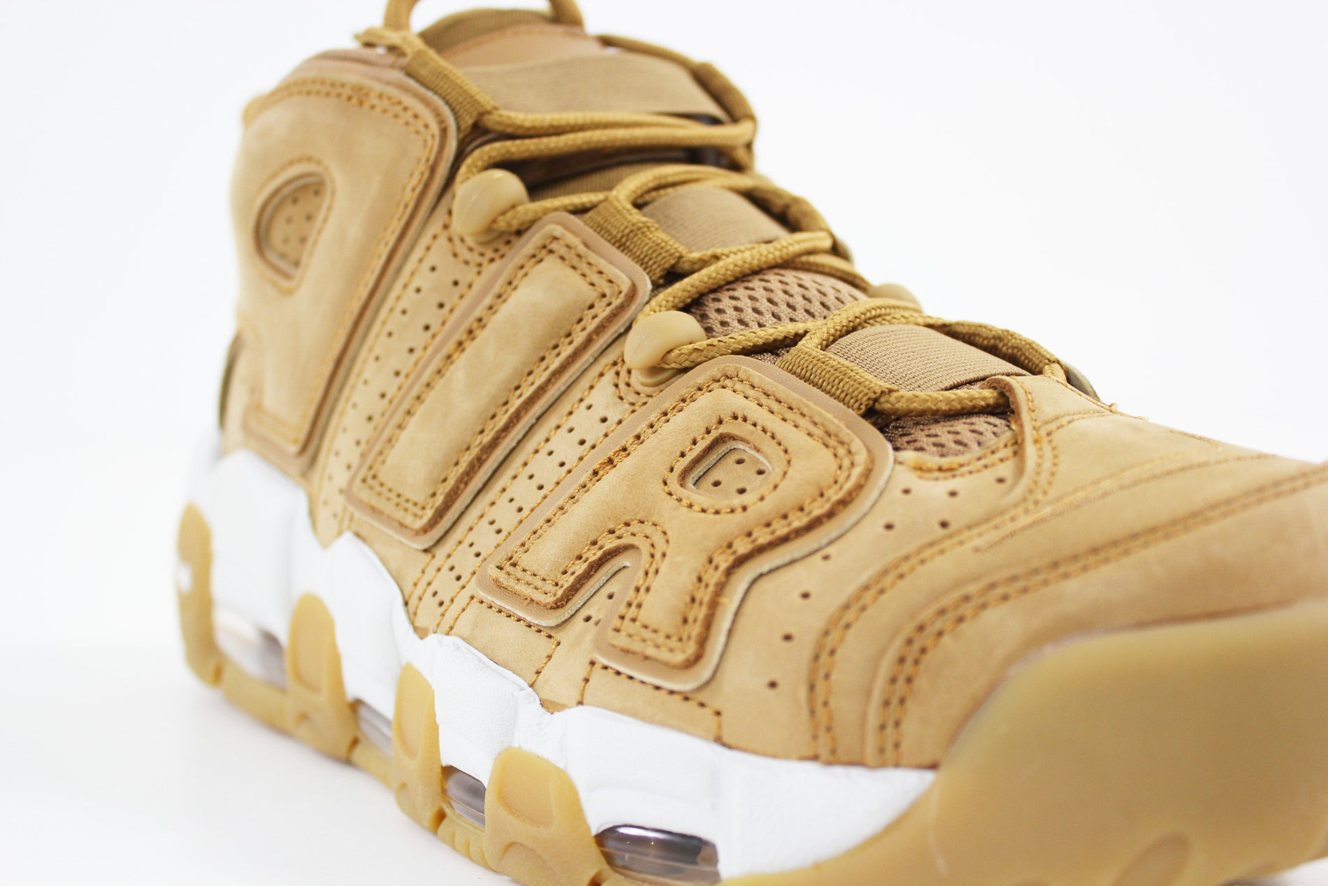Nike - Air More Uptempo '96 Premium (FLAX/FLAX-PHANTOM-GUM LIGHT BROWN) AA4060-200