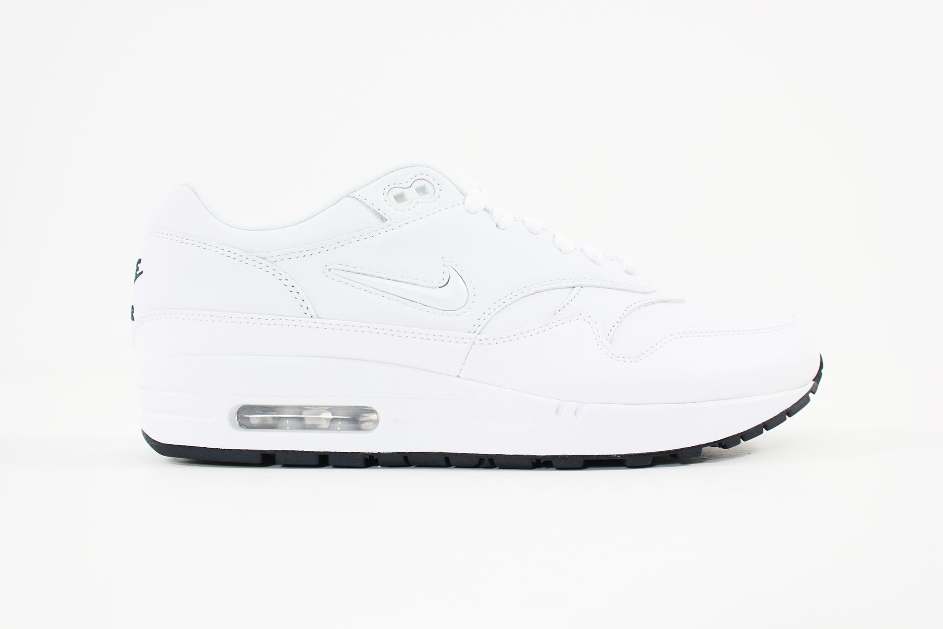 timeless design 21d2f 7a770 Nike - Air Max 1 Premium SC Shoe (WHITE/WHITE-DARK OBSIDIAN)