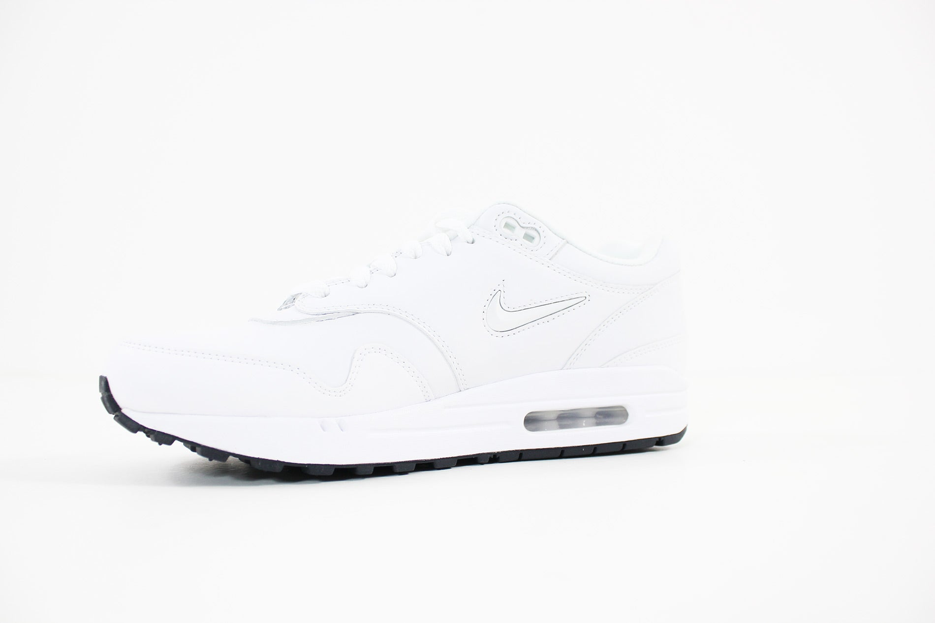 Nike Air Max 1 Premium SC in White White Dark Obsidian