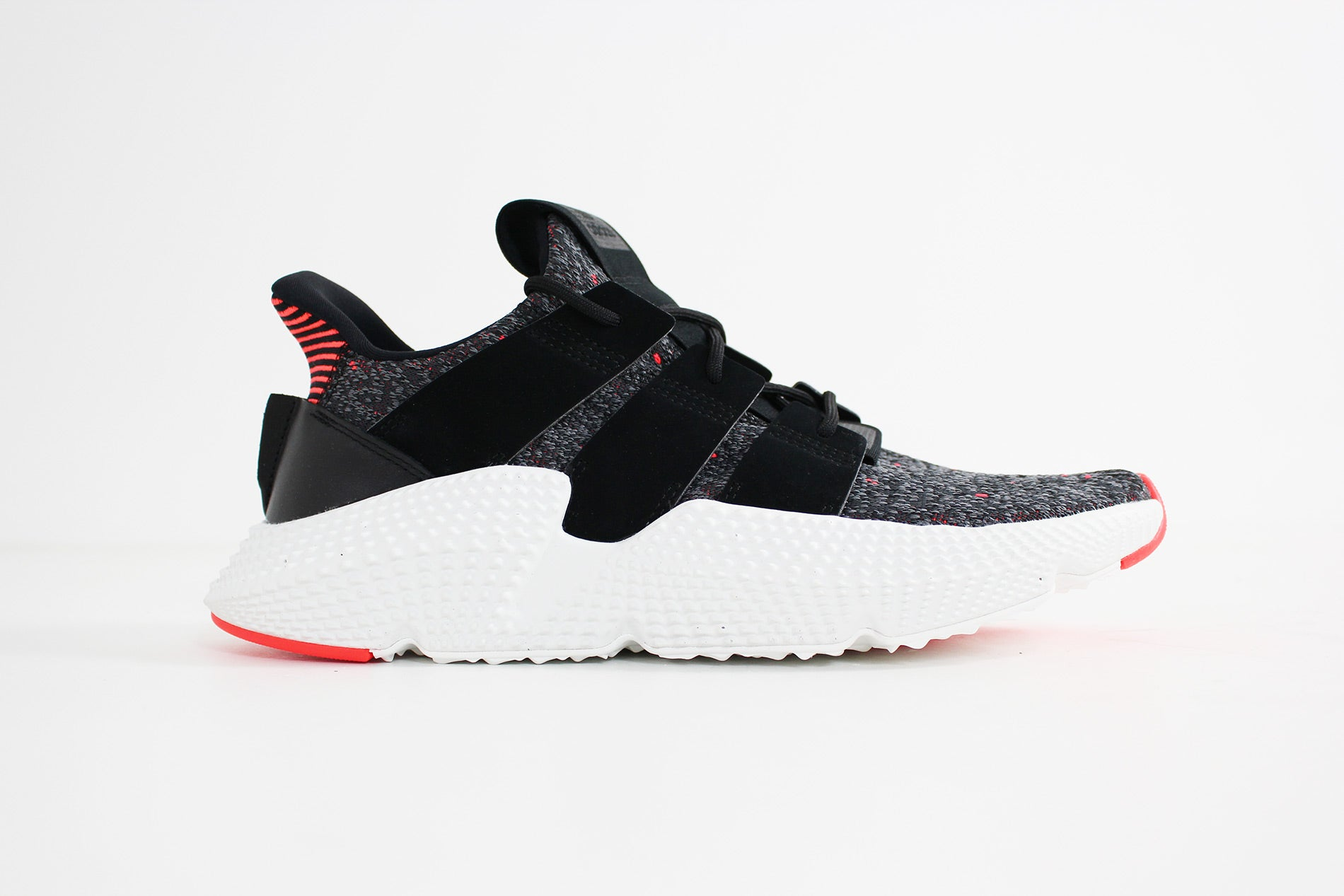 Adidas -  Prophere  (Core Black/ Core Black/ Solar Red) CQ3022