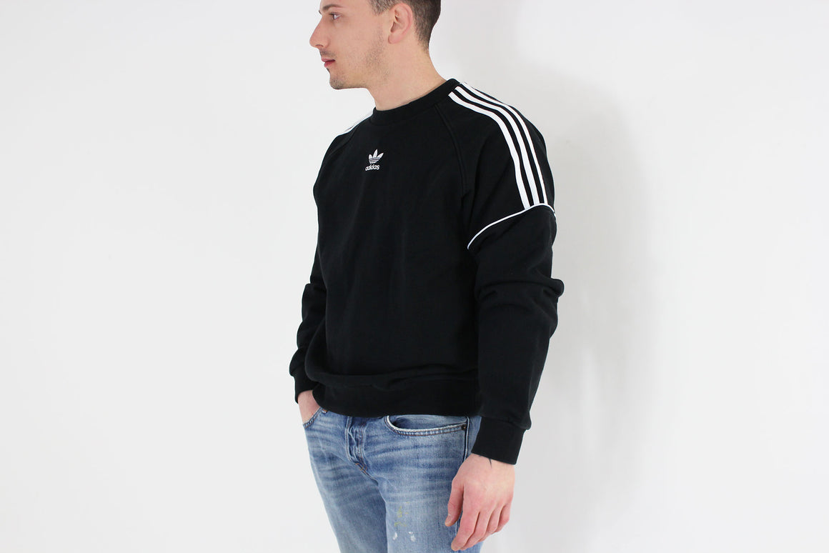 Adidas - Sweatshirt Pipe Crew Long Sleeve (Black/White) CE4832