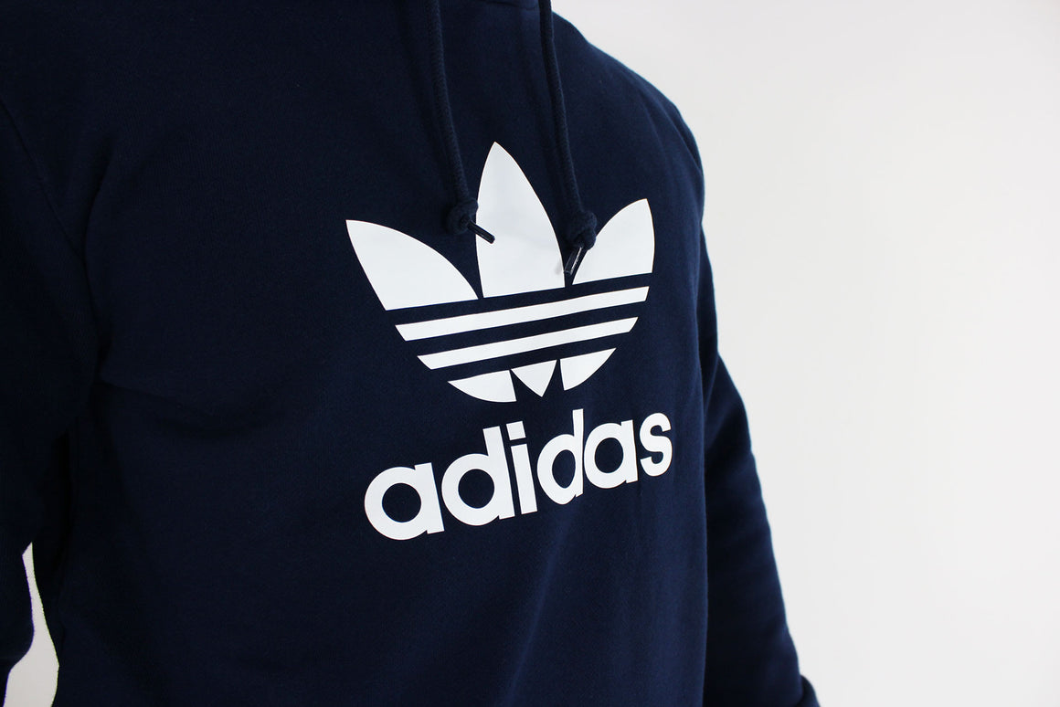 Adidas - Hoody Trefoil Sweat (Collegiate Navy) CX1900
