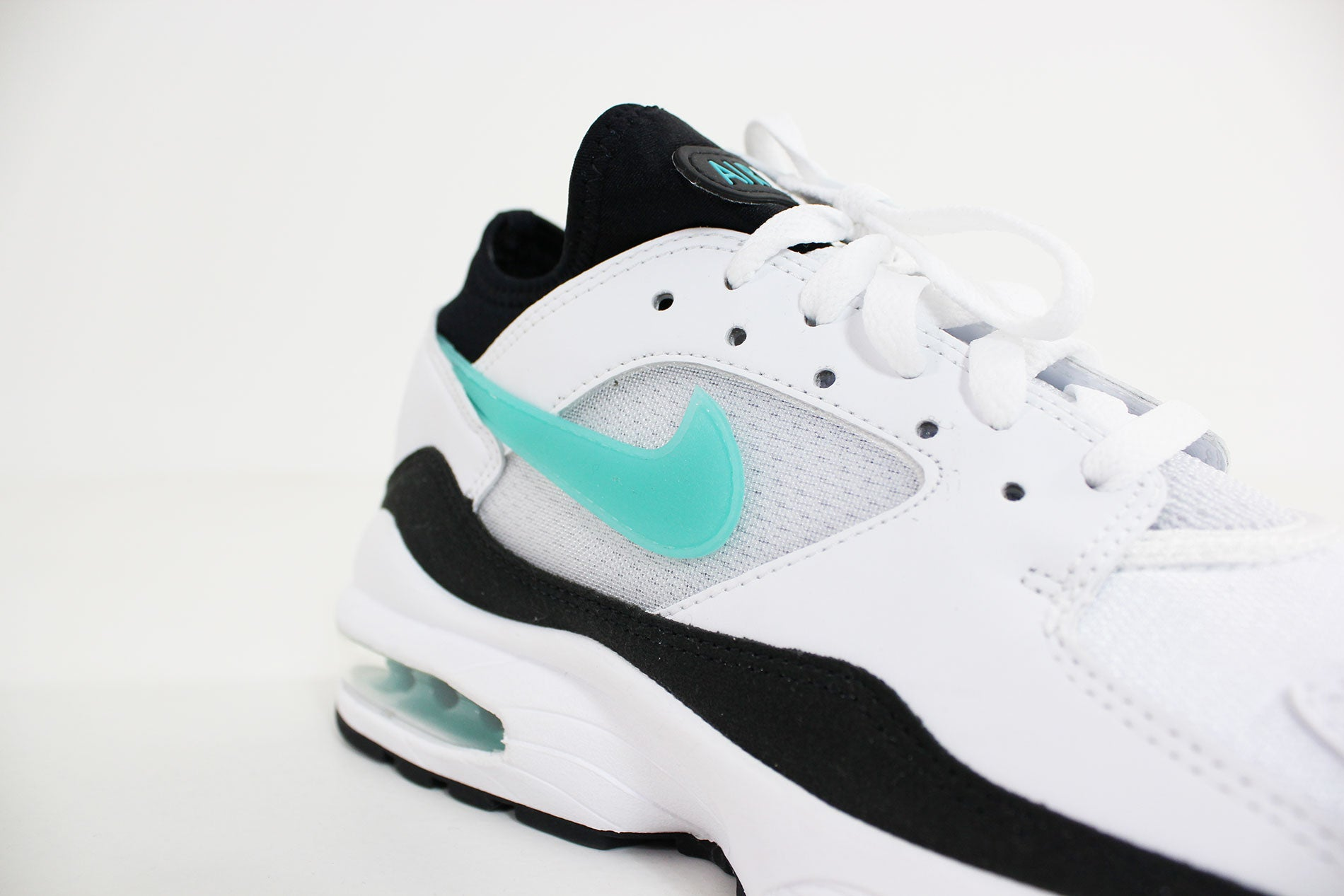 b19fc754c9 Nike - Air Max 93 (White/ Sport Turq-Black) 306551-107 - Sneakerworld