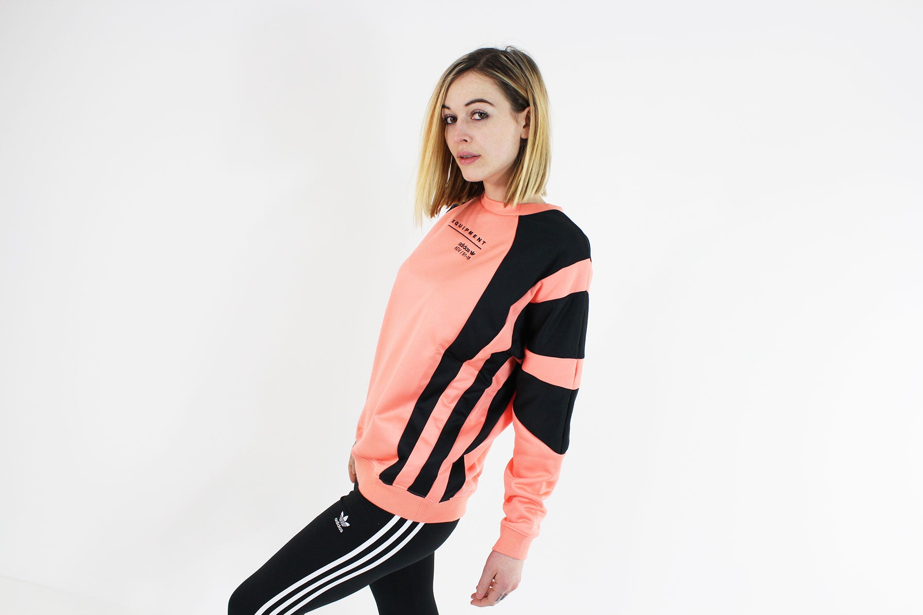 Adidas - EQT Sweatshirt Long Sleeve Women (Chacor) CD6868 - Sneakerworld 4bb02ecfa