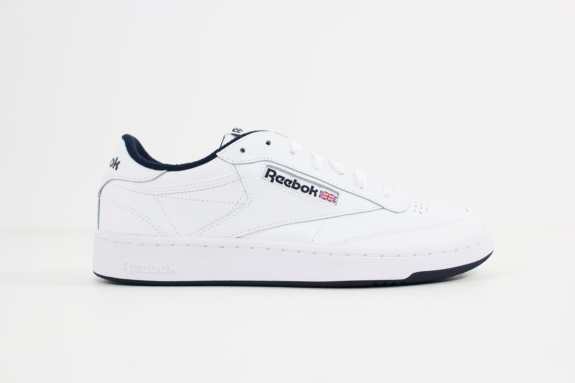 Reebok - Club C 85 (White/Navy) AR0457