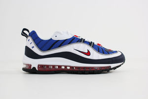 Nike - Air Max 98 (White/University Red - Obsidian)  640744-100