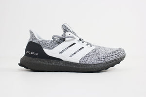 Adidas - UltraBoost  (White/White/Grey) BB6180